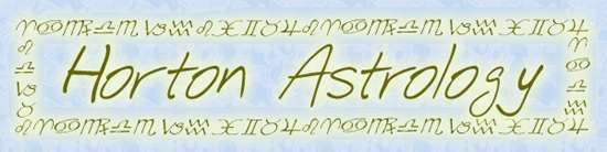 Astrology readings from Horton Astrology